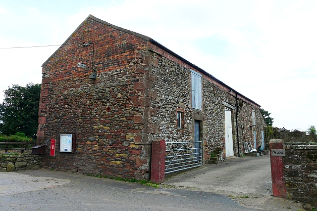 An old barn at Dundraw