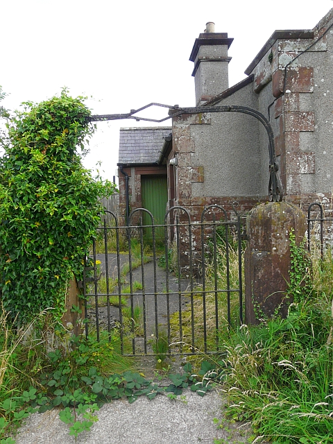 Gate to former chapel