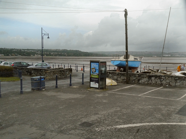 Car Park and Beach, The Mumbles