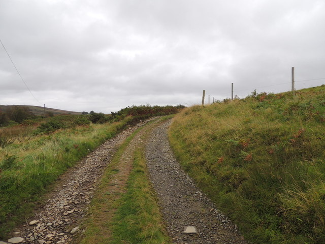 Southern Upland Way near Knockcraven