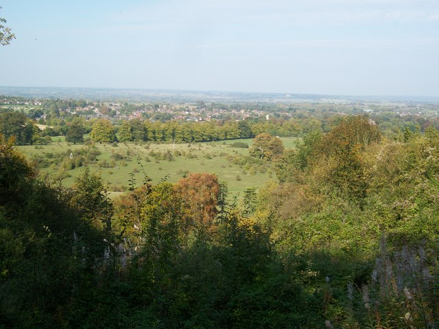View over Tring Park