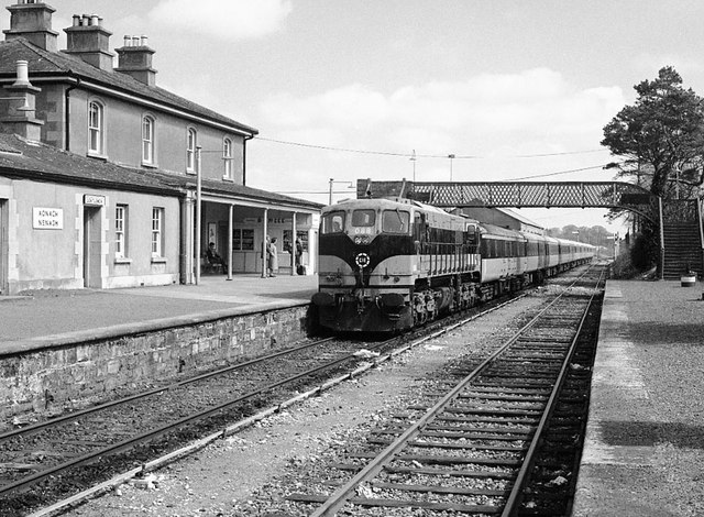 Train At Nenagh Station 169 The Carlisle Kid Geograph Ireland