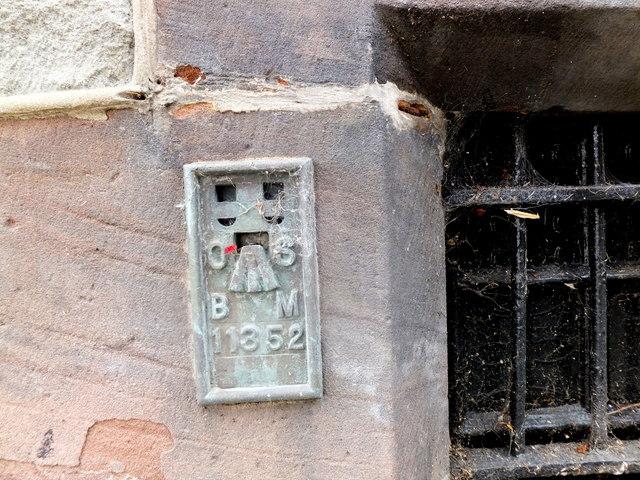 Flush bracket 11352 in Llanrwst