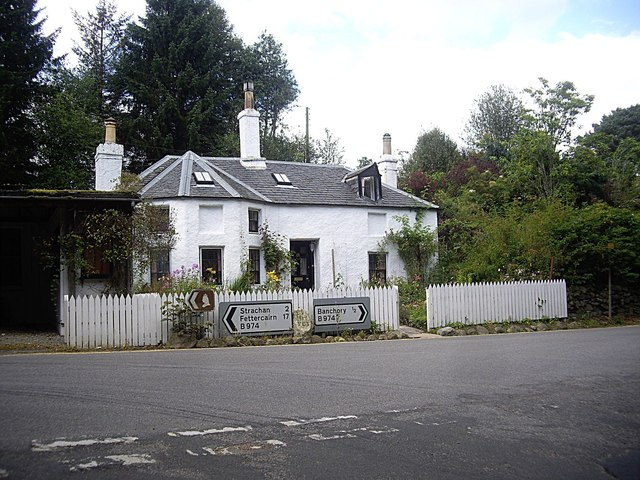 Former tollhouse for the Bridge of Feugh