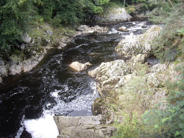 Looking downstream Water of Feugh