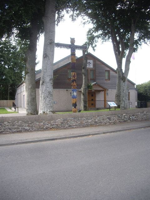 Banchory Scouts Totem Pole