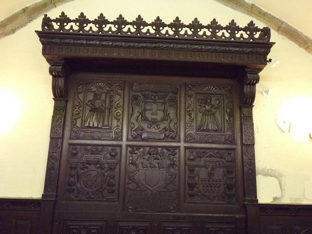 Carved Panels, East Kirk of St Nicholas