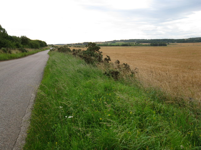 Lane near Forres Enterprise Park