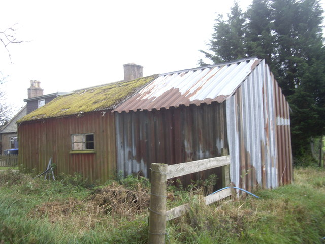 An old outbuilding at Balnaboth