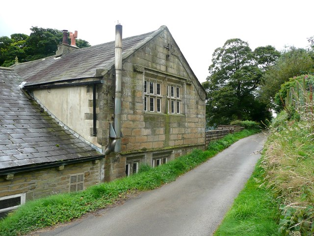 Gable end of Wadsworth Banks Farm