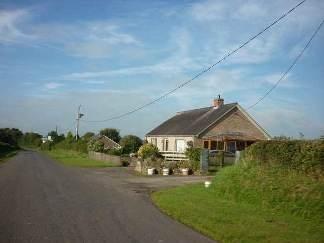 A bungalow near Dryrigg Farm