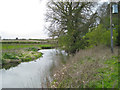 SP2186 : River Blythe at a former railway crossing by Robin Stott