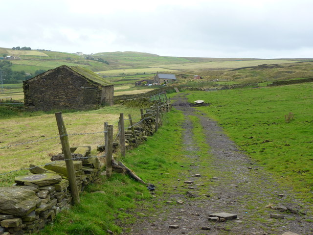 Rossendale Way, east of Weir