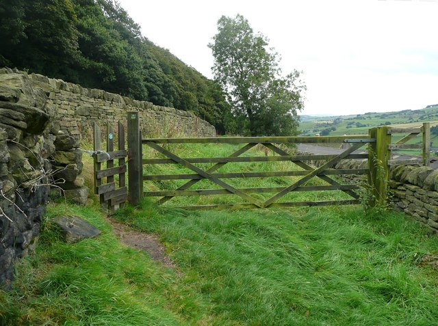 Gates on Stony Lane
