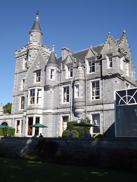 Ardoe House - Scottish Baronial