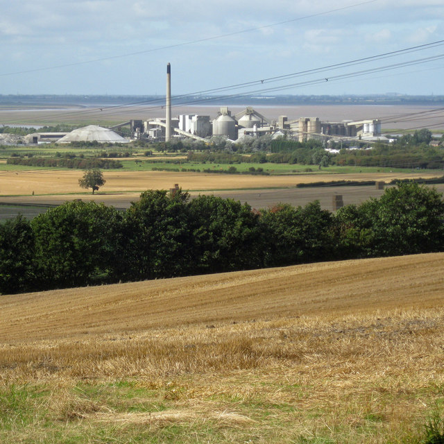 View towards Ferriby Sluice in September