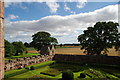 NO5869 : Edzell Castle, Walled garden and beyond by Alexander P Kapp