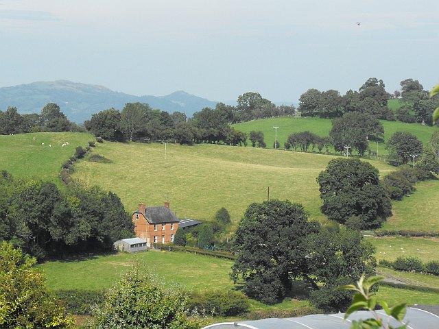 Mount Farm from Bryntirion Mawr