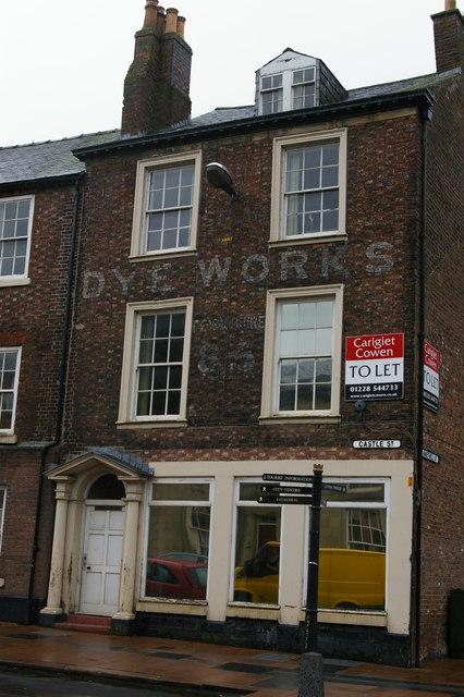 Carlisle: former dye-works, Castle Street