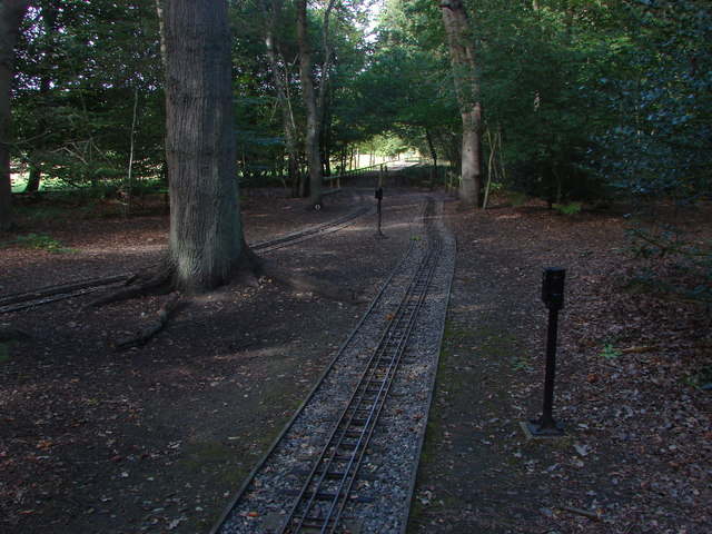 Miniature railway, Frimley Lodge