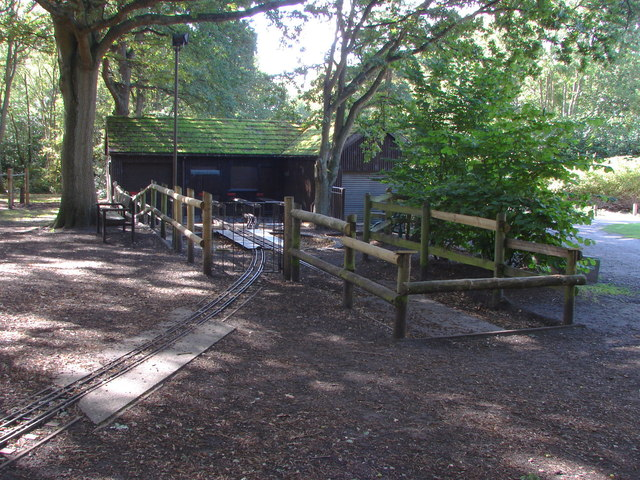Miniature railway, Frimley Lodge Park