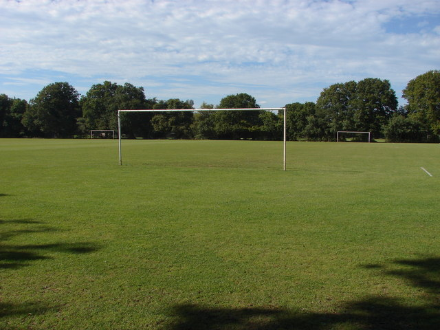 Football pitch, Frimley Lodge Park