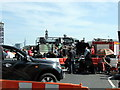 TQ3078 : Film set on Lambeth Bridge by PAUL FARMER