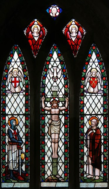 St Peter, Thornton - Stained glass window