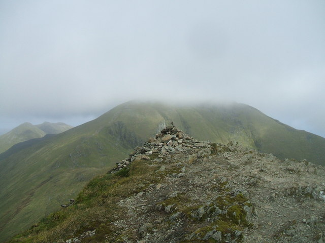 Summit of Beinn Ghlas