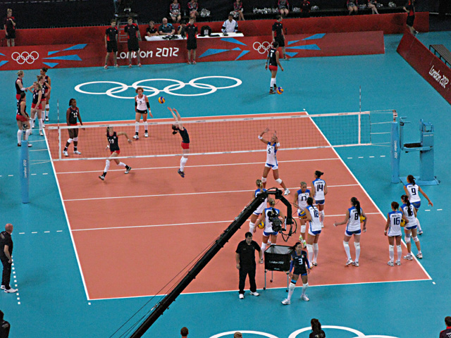 Olympic volleyball at Earls Court