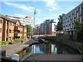 SP0687 : Birmingham & Fazeley Canal: Farmers Bridge Locks (1) by Nigel Cox