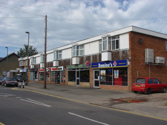 Shops, Frimley Green