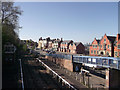 SO0561 : South view from station footbridge by John Firth