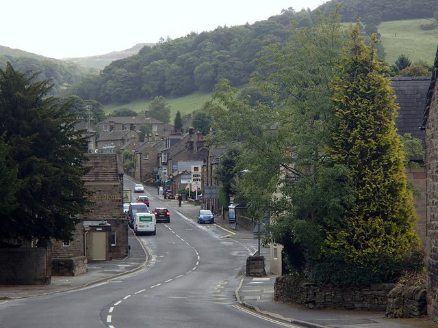 Main road through Hathersage
