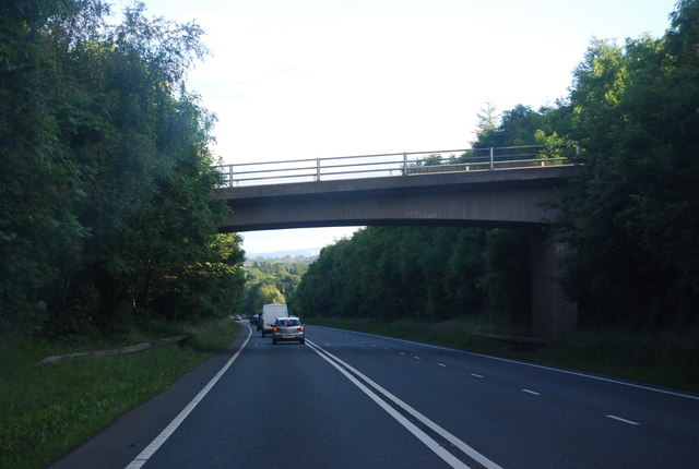 Bridge over the A5, Chirk bypass
