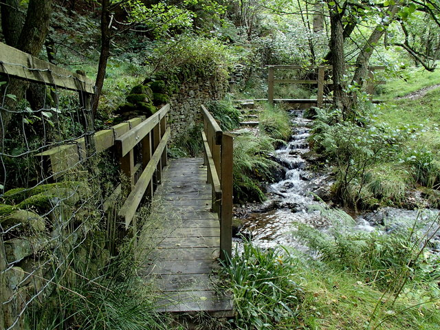 Footbridges, Highlow Brook