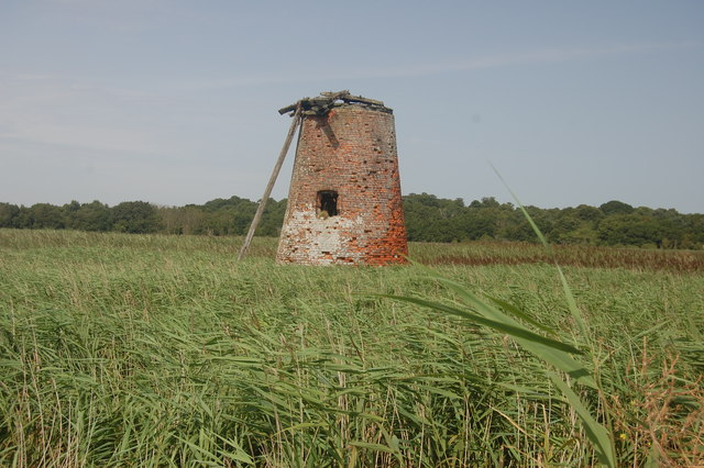 The Suffolk Coast Path - Walberswick Mill