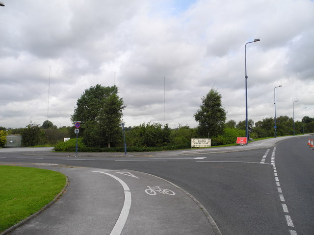 Access road from Lord Sheldon Way