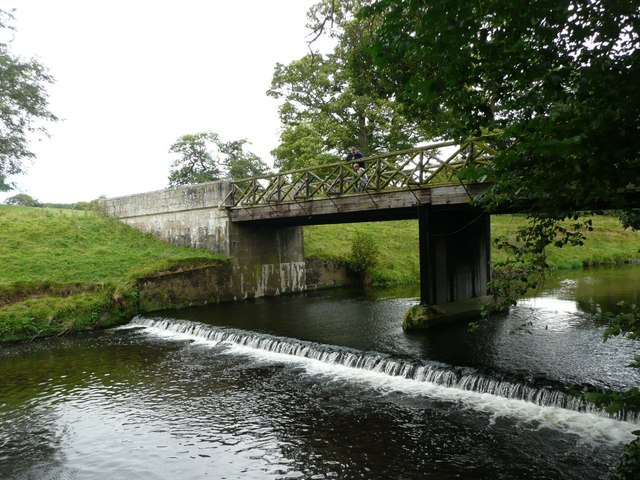 Monk's Bridge and weir