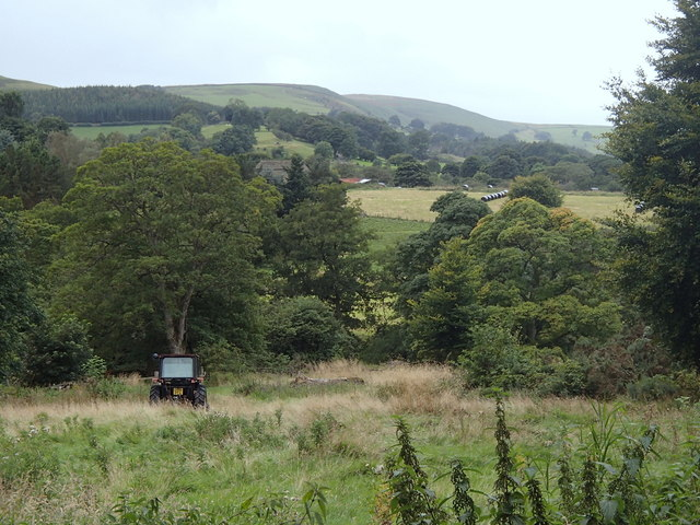 Valley scene near Leadmill