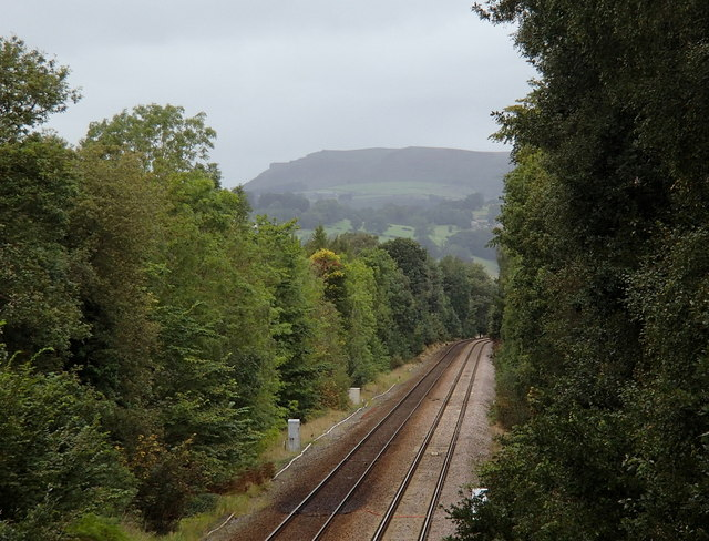 Railway towards Hathersage