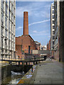SJ8497 : Rochdale Canal, Manchester City Centre by David Dixon