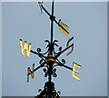 J3474 : Weathervane, the Albert Clock, Belfast by Albert Bridge