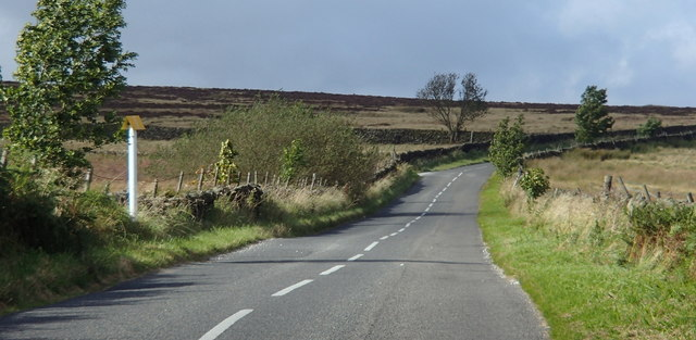 Road below Overstones Farm