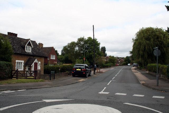 Merstham:  Radstock Way