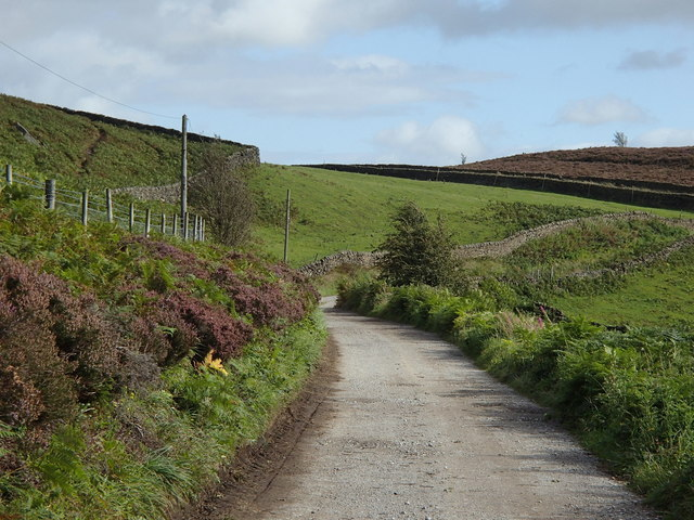 Track above Leveret Croft