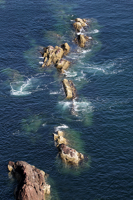 Rocks at Fancove Head