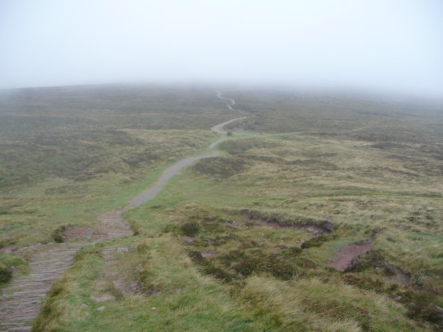 Paths on Hatterrall Ridge