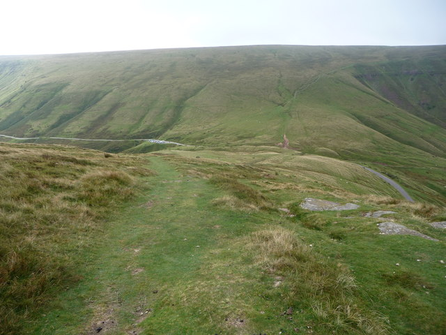 Gospel Pass from Hay Bluff