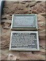 NO8785 : The Tolbooth, Stonehaven, Plaques by Alexander P Kapp